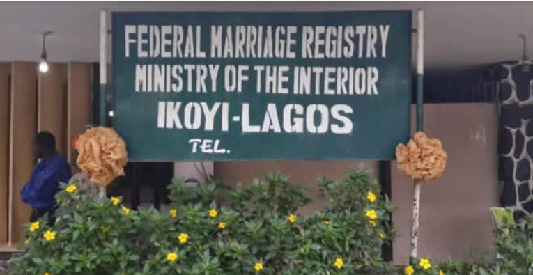 FG announces 12 registries eligible to conduct marriages nationwide