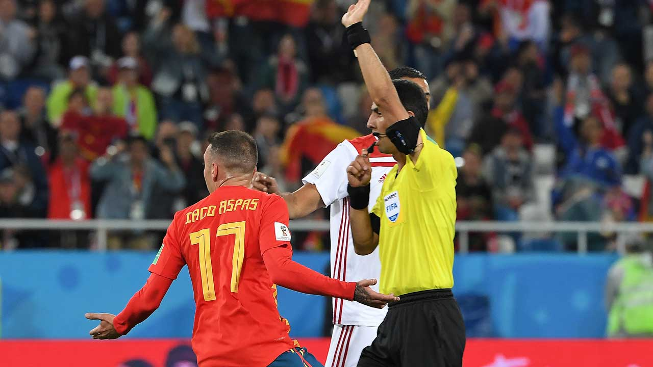 Morocco is first country to report referees to FIFA (Guardian)