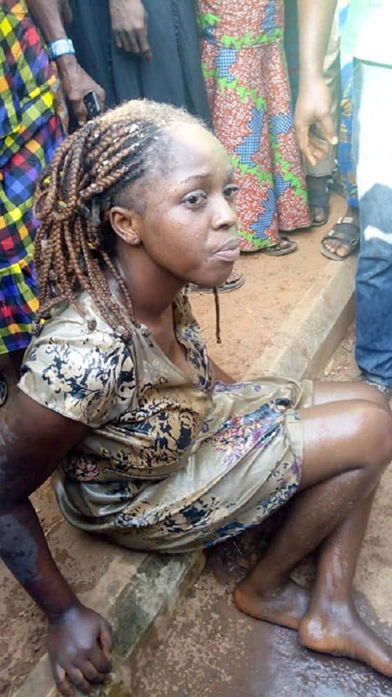 Yahoo Plus: Lady allegedly runs mad after being dropped from Lexus SUV (Video)