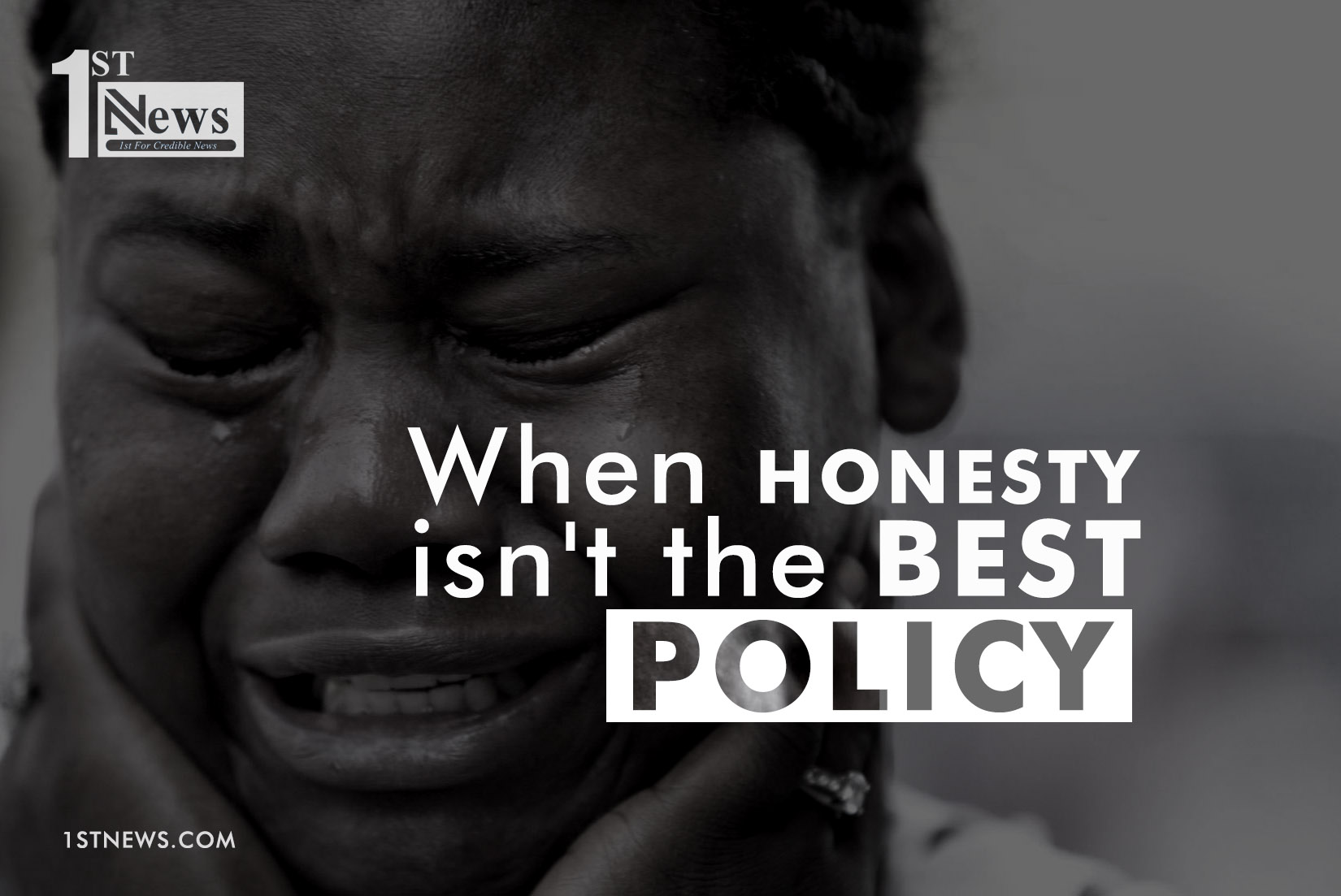 Honesty: When it isn't the best policy… - Peju Akande