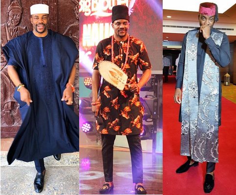 1st List: 10 Most fashionable Nigerian male celebrities of 2019