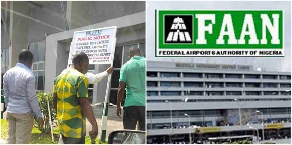 FAAN explains Uber, Bolt not banned from airports