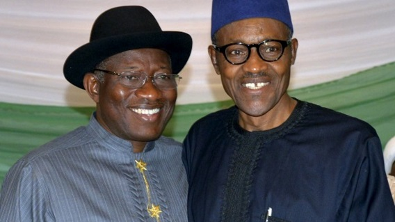 Jonathan laments being tagged 'corrupt' by Buhari's administration