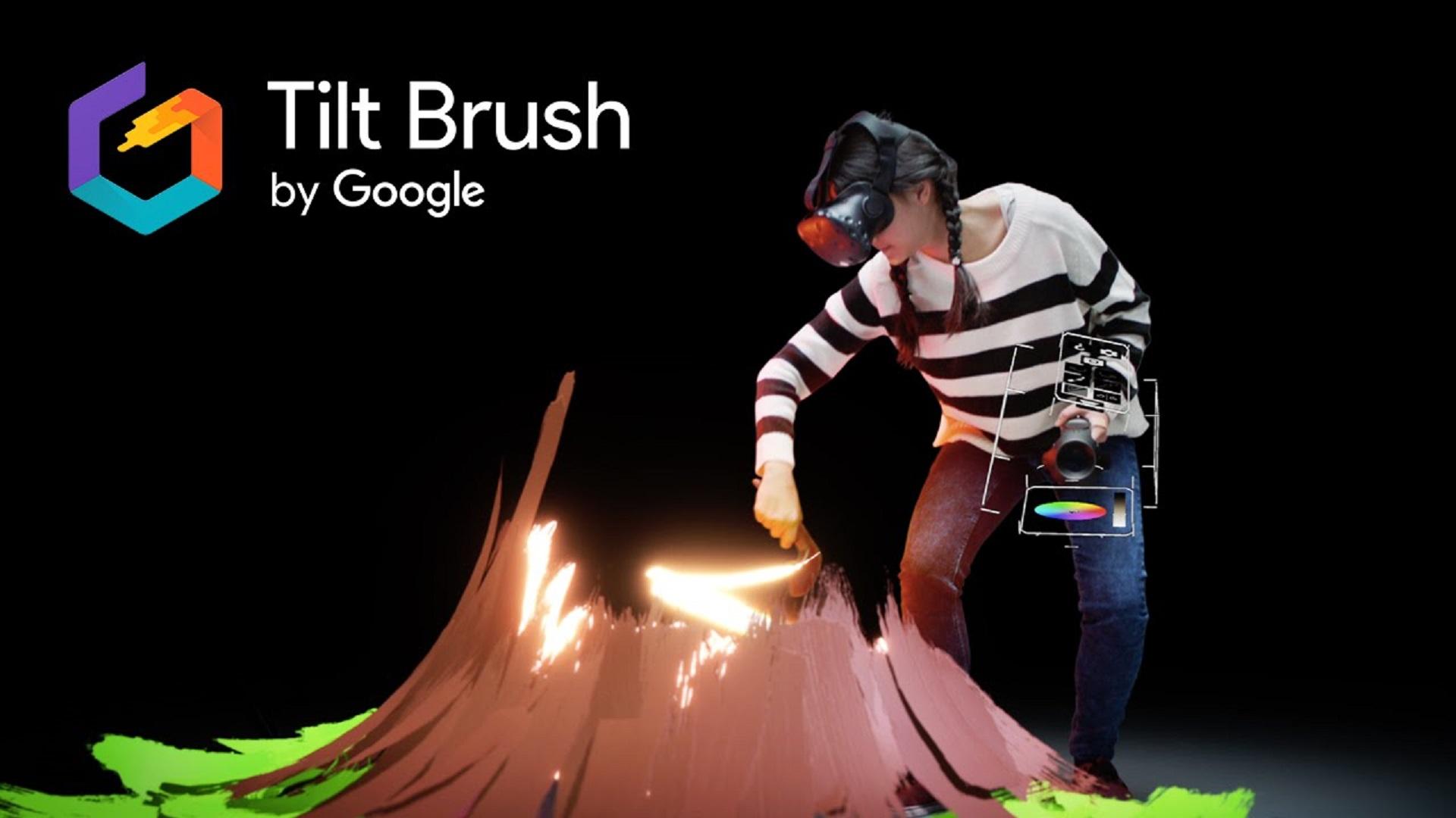 Google's Tilt Brush VR painting app goes open source