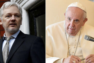 Pope sends Julian Assange personal message to his jail cell, says partner