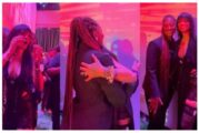 Rihanna screams with joy meeting Tems for the first time